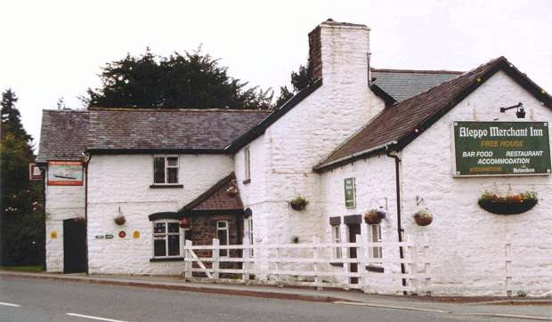 Aleppo merchant inn, Wales